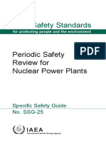 Periodic Safety Review for Nuclear Power Plants