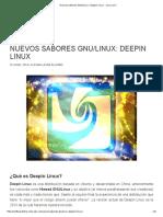 GNU Linux Deepin