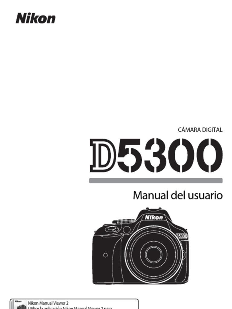 Nikon manual de usuario D5300