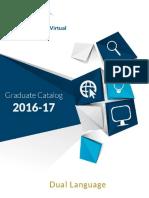 Dual Language Graduate Catalog UAGM