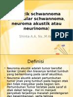 Akustik Schwannoma (Vestibular Schwannoma, Neuroma Akustik