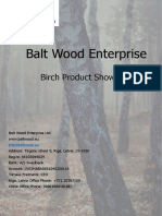 Balt Wood Enterprise Product Brochure