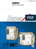 SuperAE - Technical Catalogue Y-0446-K (03.99) - Mitsubishi