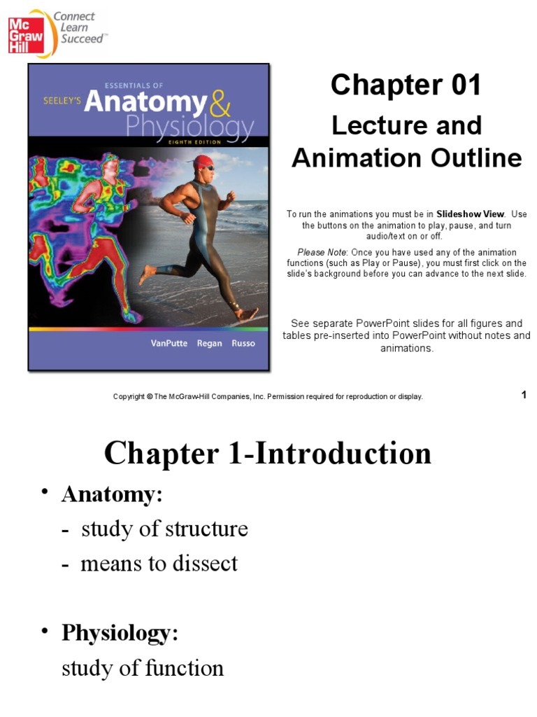 Seeley\'s : Chapter 1 Introduction to Anatomy and Physiology ...