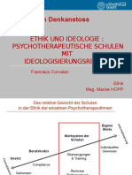 Psychotherapie Schulen Ethik HOPP