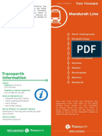 Mandurah Line 2016
