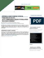 Aprenda a Usar o CHKDSK e Resolva Problemas Do Seu HD