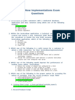 Service-Now Implementations Exam Questions
