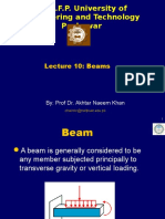 Lecture -10 Beams