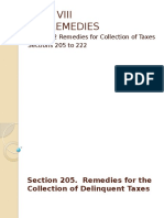 Tax Remedies Chapter 2 Report