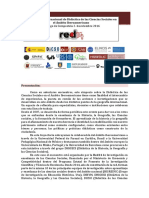 VII Simposio Internacional de Didáctica de las Ciencias Sociales en el Ámbito Iberoamericano