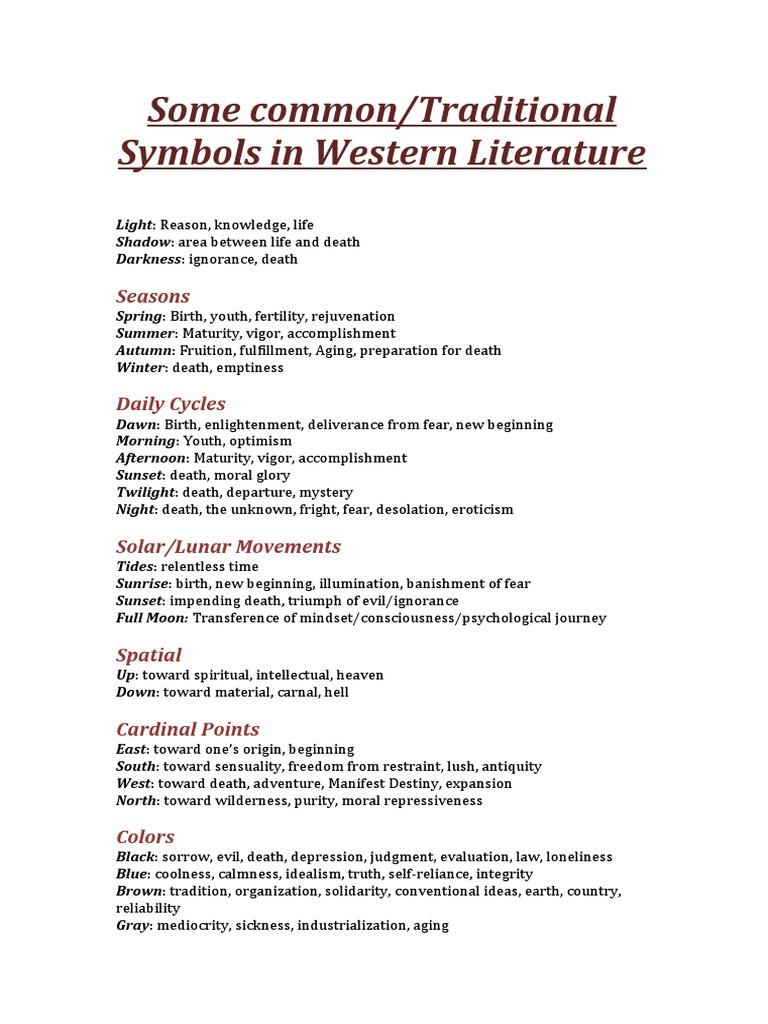 Some common traditional symbols in western literature some common traditional symbols in western literature spirituality sky buycottarizona