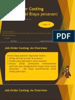 bab 3  Job Order Costing