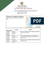 Loudoun County Crime Report