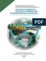 Licenciamento Ambiental No Brasil a Perspectiva Da Modernizacao Ecologica