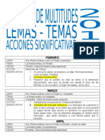 ACCIONES SIGNIFICATIVAS 2016