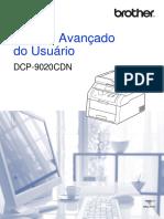 Manual Avançado Do Usuário Impressora DCP-9020CDN