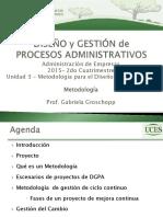 DGPA - 2015C2 - U3 Metodología