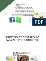 3. Desarrollo de Productos