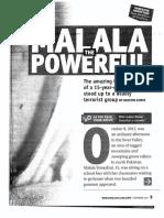 malala class handouts