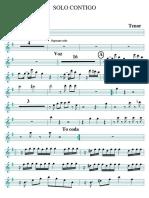 Solo Contigo Tenor PDF