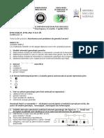 Proba Practica - GENETICA - OLIMPIADA