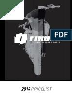 RINOLFI 2016 pricelist