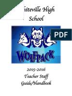 whiteville high school handbook  teacher