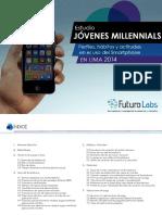 Estudio Jóvenes Millennials - Perfiles, Hábitos y Actitudes en El Uso Del Smartphone en Lima 2014