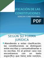 Clasificación de Las Constituciones