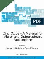 [Norbert H. Nickel, Evgenii Terukov] Zinc Oxide