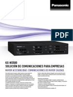 Central Telefonica Panasonic KX-NS500