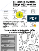 Hybrid Surya dan PLN (On Grid)