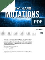 Evolve Mutations Manual English