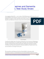 Benzodiazepines and Dementia Not Linked New Study Shows.docx