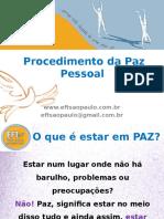Procedimento Da Paz Pessoal