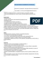 A modernização dos modos de transporte em Portugal (11.º)