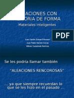 Aleaciones Con Memoria de Forma(1)