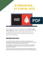 Guia Black Friday e Natal