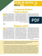 Sobre o Momento Historico Vivido No Brasil Aluno.