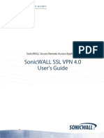 Ssl VPN 4.0 User Guide