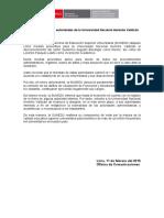 SUNEDU desconoce autoridades de la Universidad Nacional Hermilio Valdizán