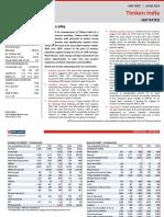 Timken HDFC Sec Research Report