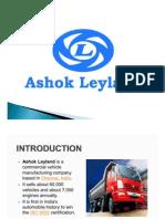 PPT on Ashok Leyland