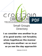 Small Groups 2016 1