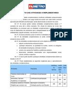 Site Regulamento Das Atividades Complementares