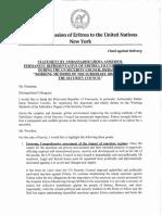 Eritrea's Speech to Sanctions Debate of UNSC, Feb 11, 2016