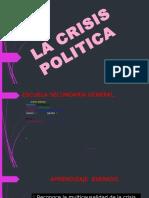 La Crisis Politica