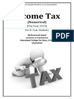 Income Tax Numerical 2015