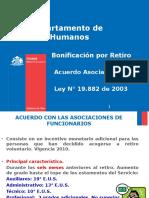 Presentación Ley 19882 (Bonificacion Por Retiro)